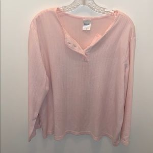 Blair pink blouse
